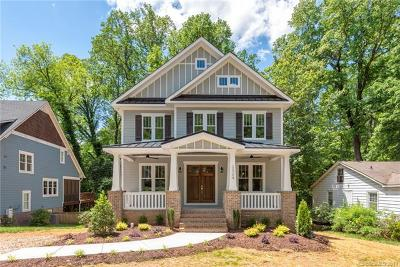 Charlotte Single Family Home For Sale: 2324 Kingsbury Drive