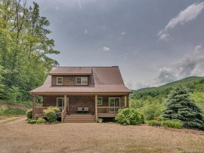 Lake Lure Single Family Home For Sale: 2826 Cedar Creek Road