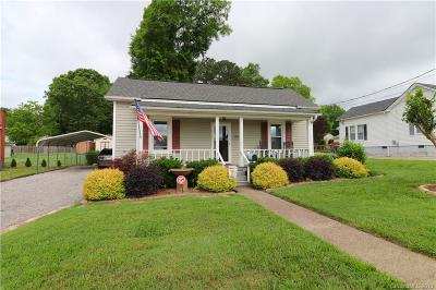 Kannapolis Single Family Home Under Contract-Show: 109 N Rose Avenue