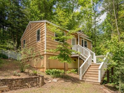 Transylvania County Single Family Home Under Contract-Show: 76 Lake Sega Circle