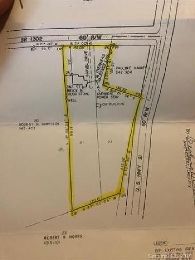 Mooresville Residential Lots & Land For Sale: Charlotte Highway #22/21