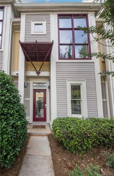 Charlotte Condo/Townhouse For Sale: 1047 Park West Drive