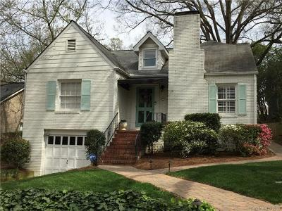 Myers Park, Myers Park Manor Single Family Home For Sale: 206 Dellwood Avenue