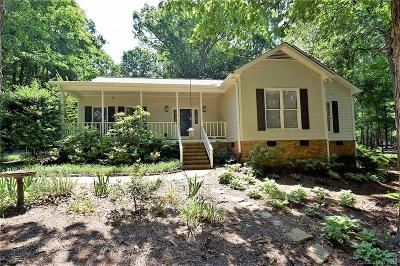 Indian Trail Single Family Home For Sale: 3261 Wesley Chapel Road