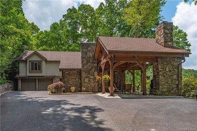 Waynesville Single Family Home For Sale: 260 Big Bear Road