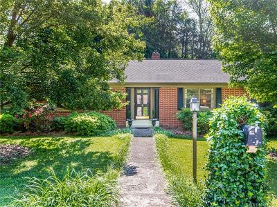 Buncombe County Single Family Home For Sale: 6 Bevlyn Drive