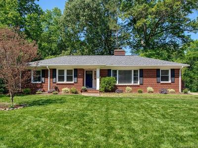 Charlotte Single Family Home Under Contract-Show: 5420 Valley Forge Road