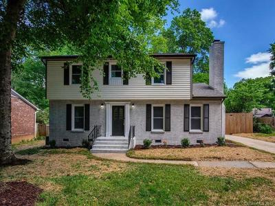 Charlotte Single Family Home For Sale: 3533 Denson Place