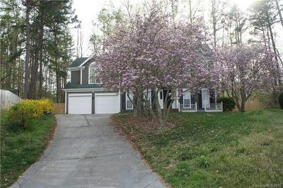 Matthews Single Family Home Under Contract-Show: 3519 Crescent Knoll Drive #140