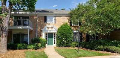 Charlotte Condo/Townhouse For Sale: 8341 Meadow Lakes Drive