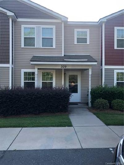 Charlotte Condo/Townhouse For Sale: 309 Drury Drive