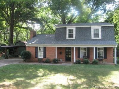 Charlotte Rental For Rent: 821 Greentree Drive