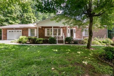 Candler Single Family Home For Sale: 54 Morgan Branch Estate