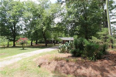 Anson County Single Family Home For Sale: 1689 Deep Springs Church Road