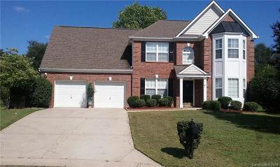 Charlotte Single Family Home For Sale: 12326 Ridge Cove Circle