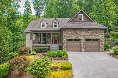 Hendersonville NC Single Family Home For Sale: $585,000