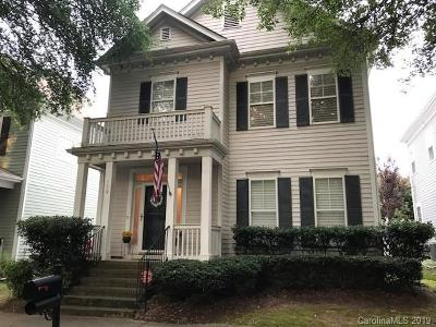 Davidson Single Family Home For Sale: 139 Park Forest Street
