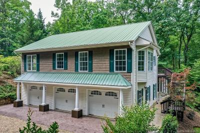 Lake Lure Single Family Home For Sale: 131 Sunset Lane