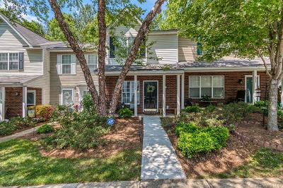 Charlotte Condo/Townhouse For Auction: 6057 Cougar Lane