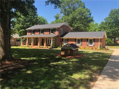 Mint Hill Single Family Home For Sale: 2503 Shelburne Place