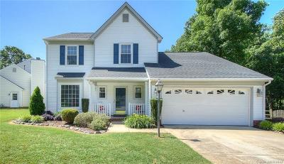 Indian Trail Single Family Home For Sale: 3511 Brooktree Lane