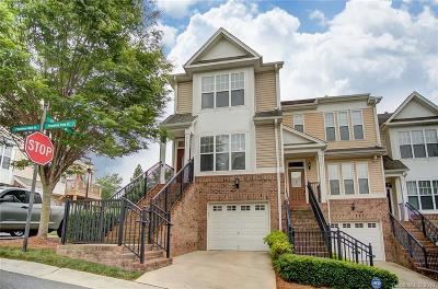 Charlotte NC Condo/Townhouse For Sale: $177,000