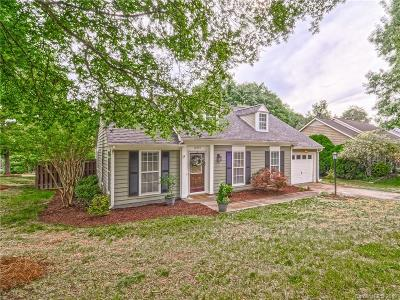 Pineville Single Family Home Under Contract-Show: 12301 Delcorte Lane