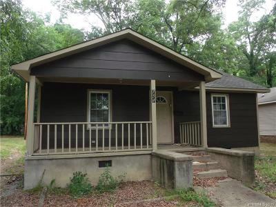 Rock Hill SC Single Family Home For Sale: $34,900