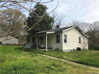 Grover NC Single Family Home For Sale: $20,000