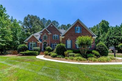 Matthews Single Family Home Under Contract-Show: 3519 Weddington Oaks Drive