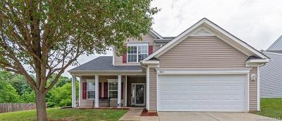 Single Family Home For Sale: 6611 Goldenwillow Drive
