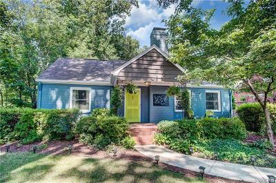 Charlotte Single Family Home For Sale: 1429 Morningside Drive