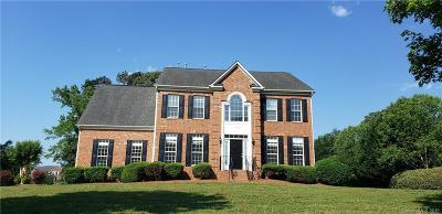 Mint Hill Single Family Home For Sale: 11930 Jumper Drive