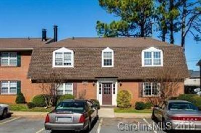 Charlotte Condo/Townhouse For Sale: 5808 Hunting Ridge Lane #J
