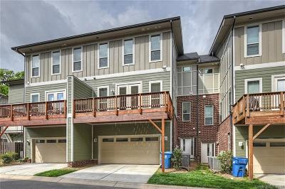 Charlotte Condo/Townhouse For Sale: 923 Steel House Boulevard