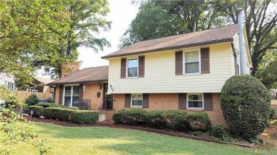 Charlotte Single Family Home For Sale: 932 Stanfield Drive