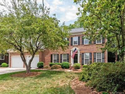 Charlotte Single Family Home Under Contract-Show: 9501 Deer Spring Lane