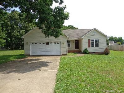 Rowan County Single Family Home Under Contract-Show: 366 Cress School Road