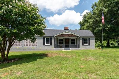Troutman Single Family Home For Sale: 419 Hicks Creek Road