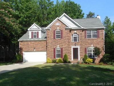 Mint Hill Single Family Home For Sale: 7620 Hogans Bluff Lane