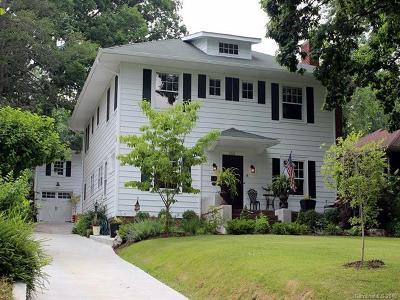 Hendersonville Single Family Home For Sale: 1523 Druid Hills Avenue