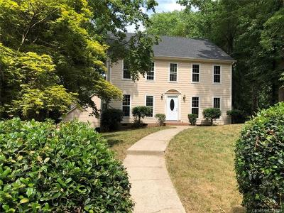 Charlotte Single Family Home For Sale: 4501 Pendock Court