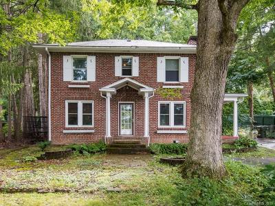 Asheville Single Family Home For Sale: 945 Hendersonville Road