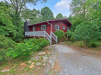 Pisgah Forest Single Family Home Under Contract-Show: 517 Bass Lake Drive