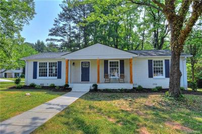 Charlotte Single Family Home Under Contract-Show: 1444 Redcoat Drive