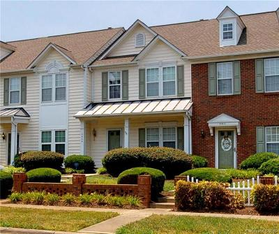 Indian Trail Condo/Townhouse For Sale: 3809 Faith Church Road