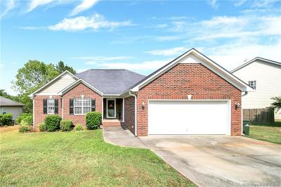 Waxhaw Single Family Home Under Contract-Show: 3901 Cassidy Drive