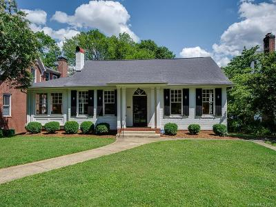 Charlotte Single Family Home For Sale: 2007 Dilworth Road E