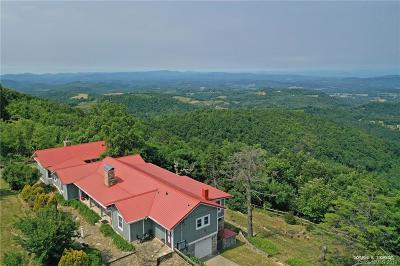Henderson County Single Family Home For Sale: 5005 Sugarloaf Mountain Road
