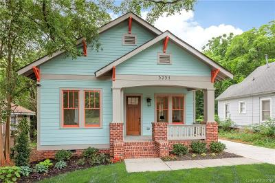 Charlotte Single Family Home For Sale: 3231 Rogers Street